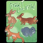 4 Rabbit Linearts [P2U]