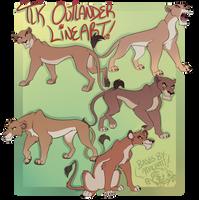 TLK Lioness Lines: Outlanders [P2U] by Machati