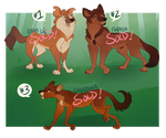 Dhole Adoptables [SOLD]