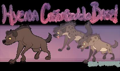 TLK Hyena Customizable Base [P2U] by Machati