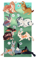 Rabbit Adoptables 4 [OPEN] by Machati