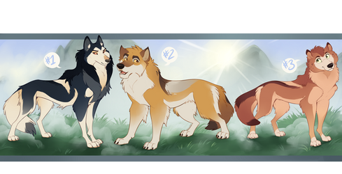 Patreon Wolves