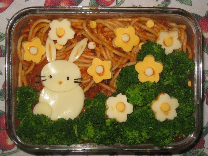Bunny Bento by rltan888