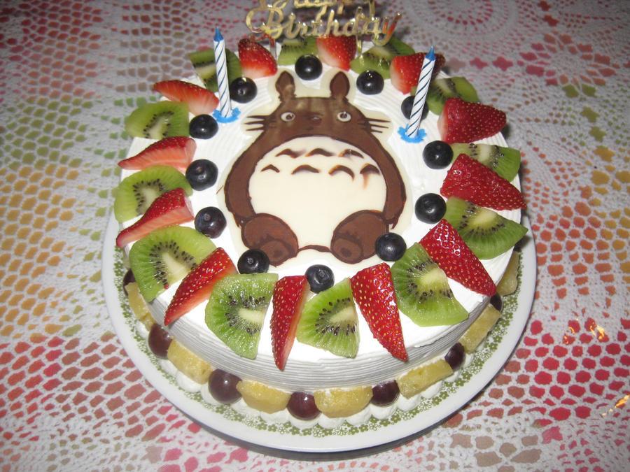 Totoro Cake 3 by rltan888