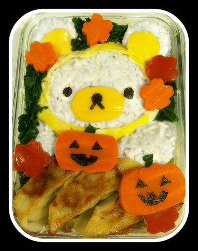 Rilakkuma Halloween Bento by rltan888