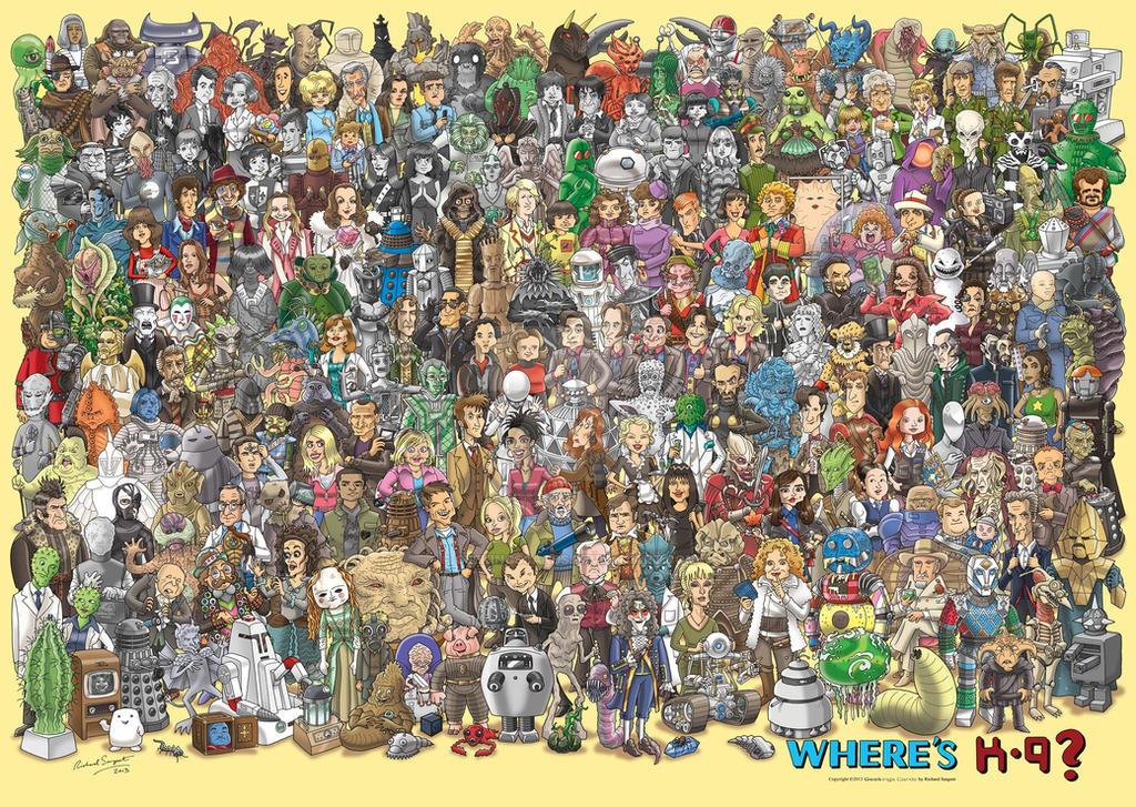 Where's K-9? by GeekingsCards