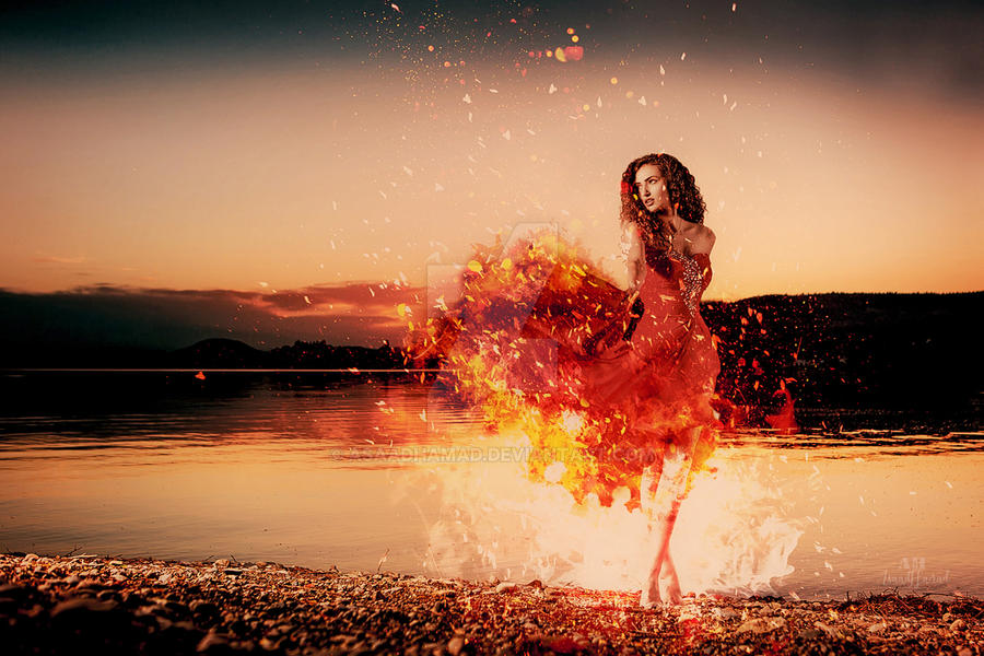 The Dance Of Fire by Asaadhamad