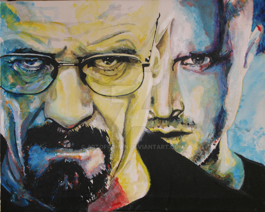 Breaking Bad Cooks by Artofronan