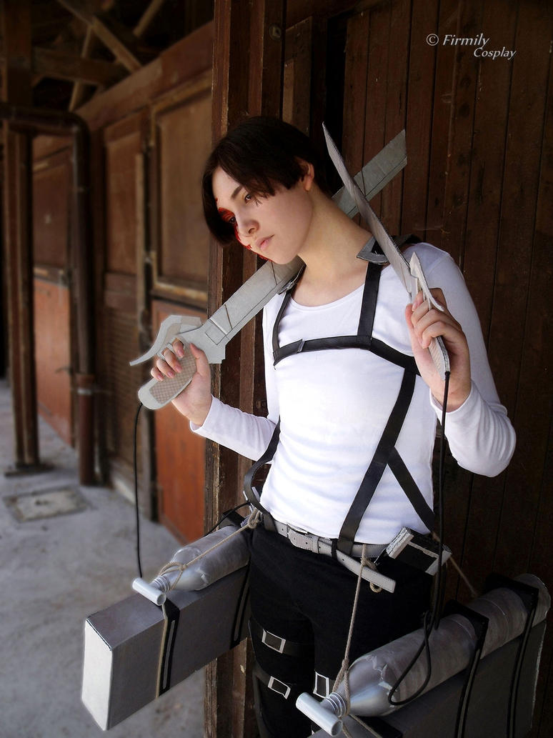 Attack on Titan: Levi cosplay by Firmily on DeviantArt