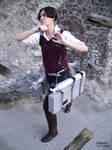 ACWNR / Attack on titan - Levi cosplay