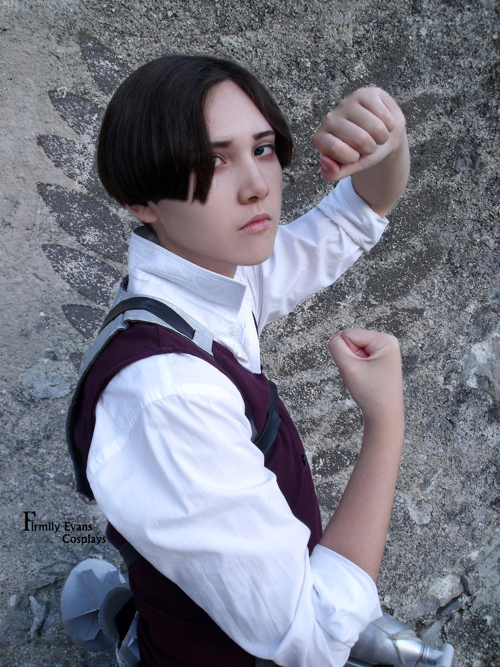 Levi cosplay - Attack on titan OAV by Firmily on DeviantArt
