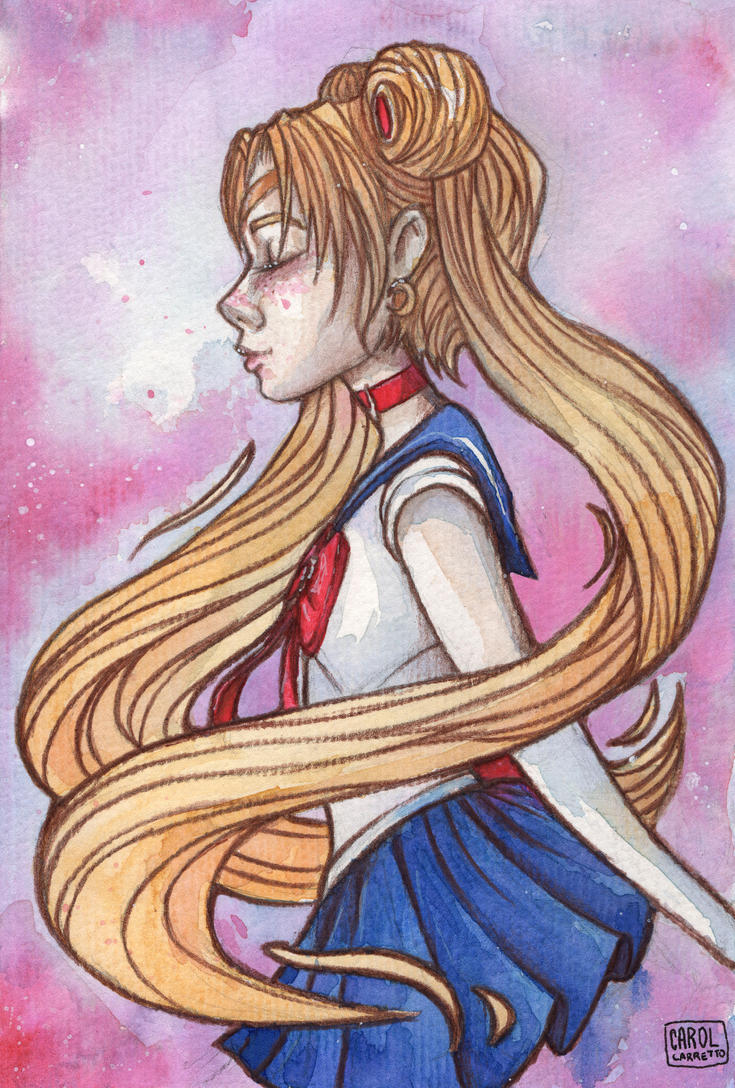 Sailor Moon by DreamingCarol
