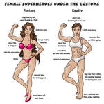 Female Superheroes Under the Costume