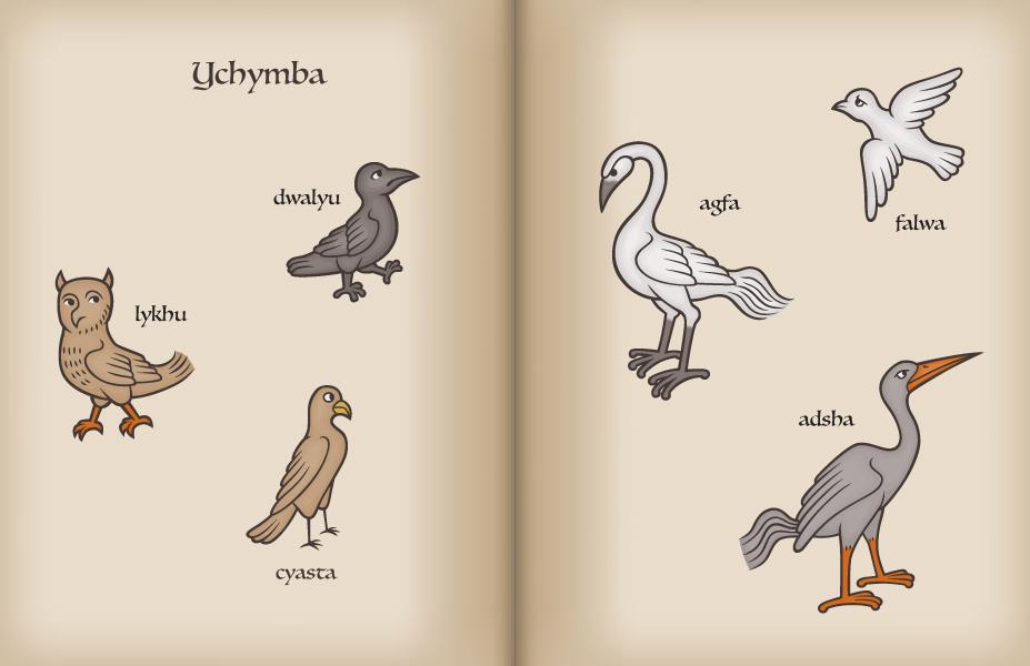 Birds, FairyLang by JohnRaptor
