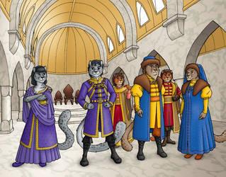 Lioren Aristocrat Nobles by JohnRaptor
