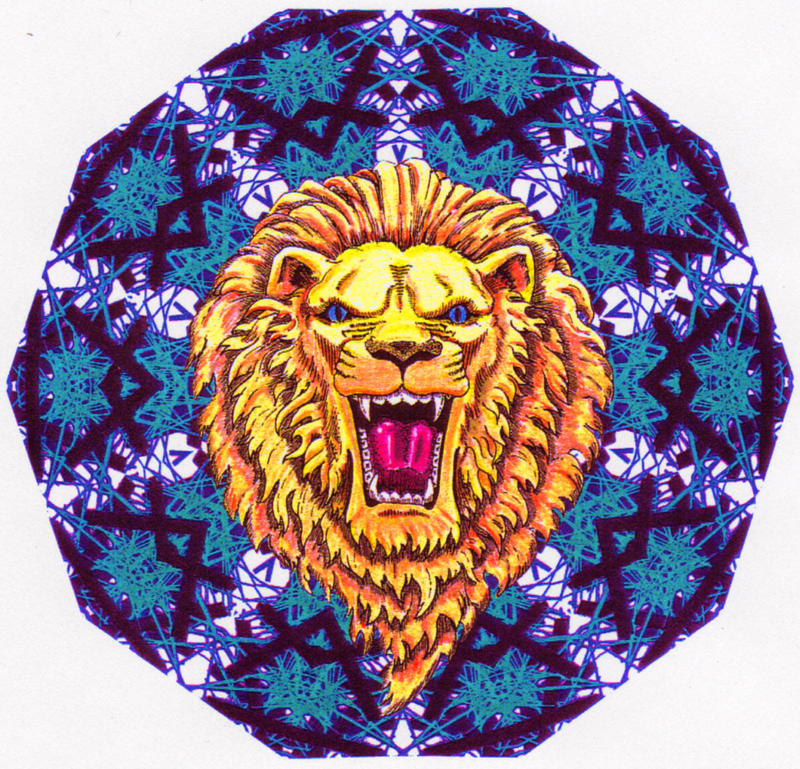 Lion Mandala by savageworlds