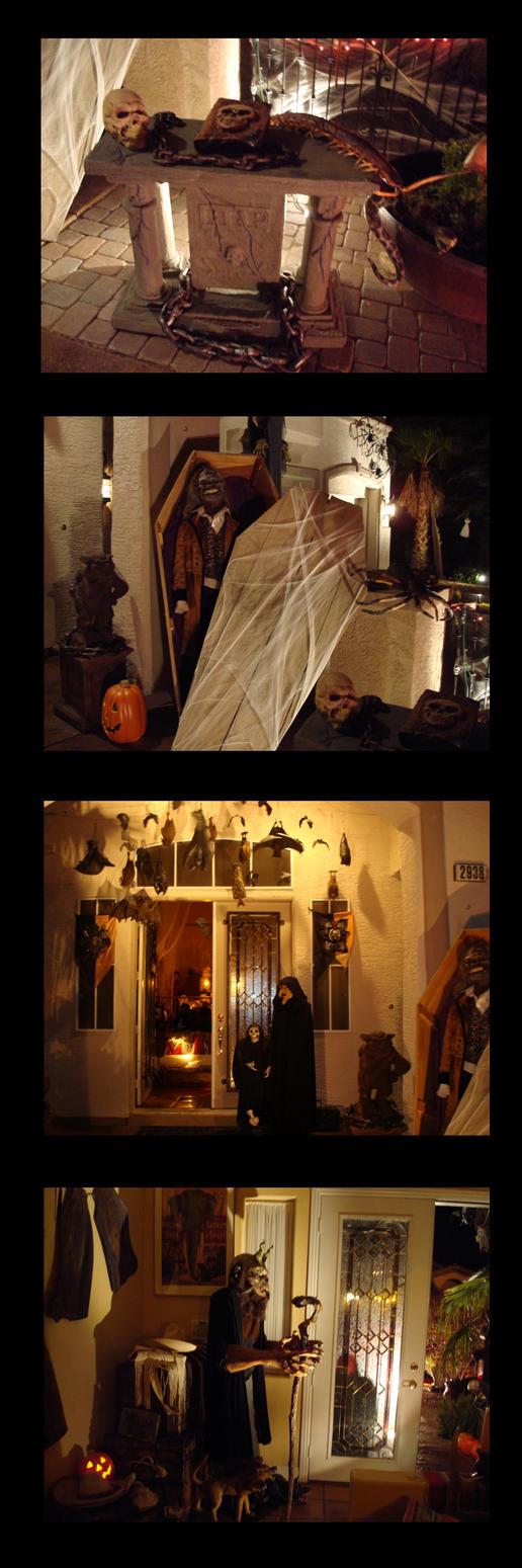 Exterior Halloween Decoration Ideas