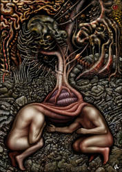 Corrupted Garden by savageworlds