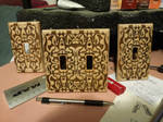 Laser-etched Switchplates