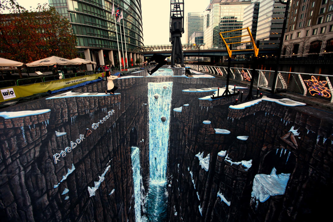 Guiness world record 3d street art by jamielawrence