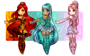 Elemental Adoptables Auction CLOSED by GrimmAdopts