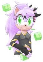 [Gift] Saphira the Hedgehog by Foxai