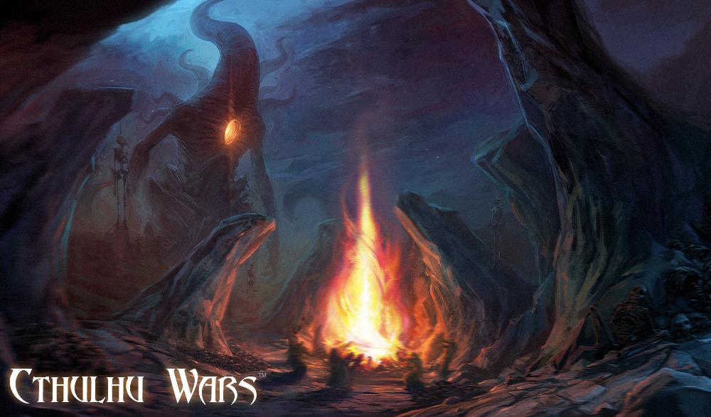 Cthulhu Wars - Nyarlathotep by TentaclesandTeeth