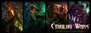 Cthulhu Wars - Great Old Ones by TentaclesandTeeth