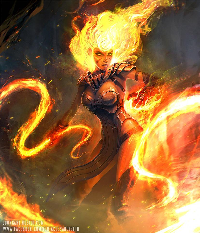 Sorceress By Tentaclesandteeth On Deviantart