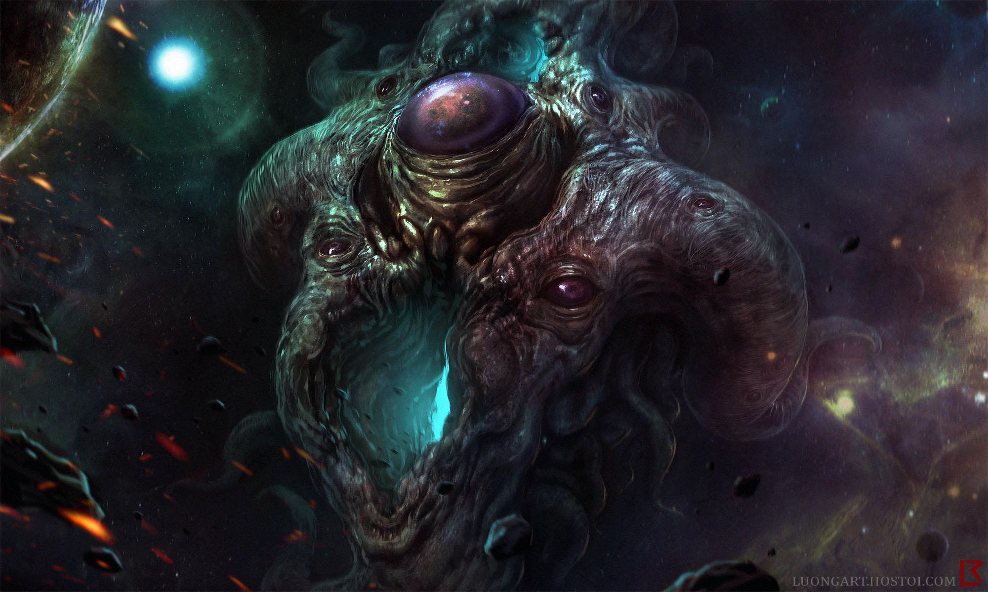 Azathoth Vs Cthulhu   Azathoth Rising   by Richard
