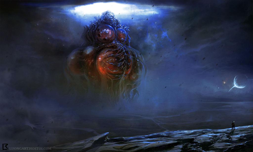 Hp Lovecraft Art Wallpapers: Yog Sothoth Rising By TentaclesandTeeth On DeviantArt