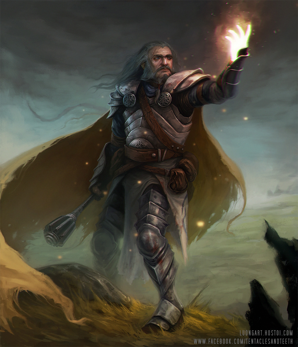 Dwarf Cleric by TentaclesandTeeth