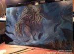 Cthulhu Painting
