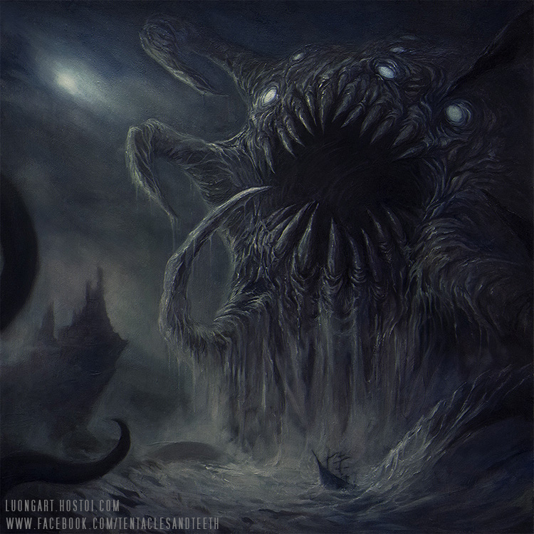 Drowning the Light Album cover by TentaclesandTeeth