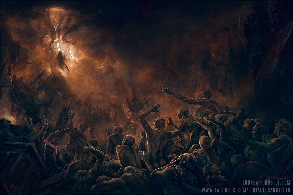 Azathoth Vs Cthulhu Coming of Azathoth by ...
