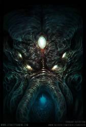 Lethality Cthulhu Head by TentaclesandTeeth