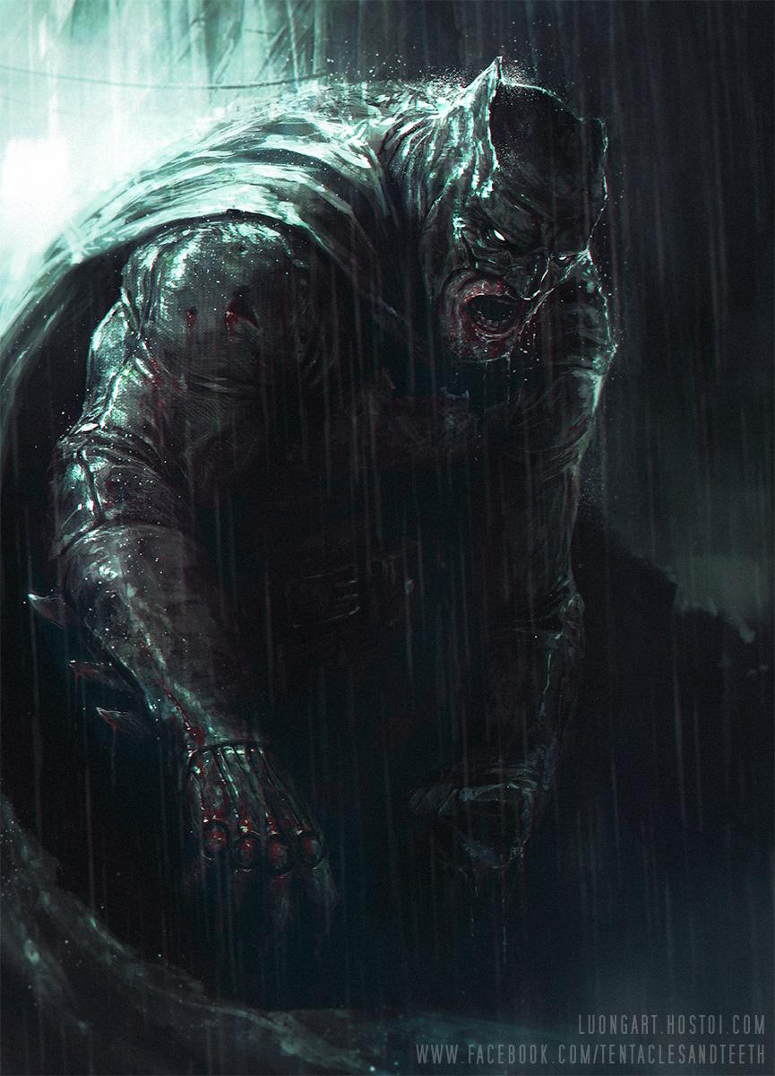 Dark Knight by TentaclesandTeeth