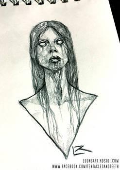 Possessed Woman sketch