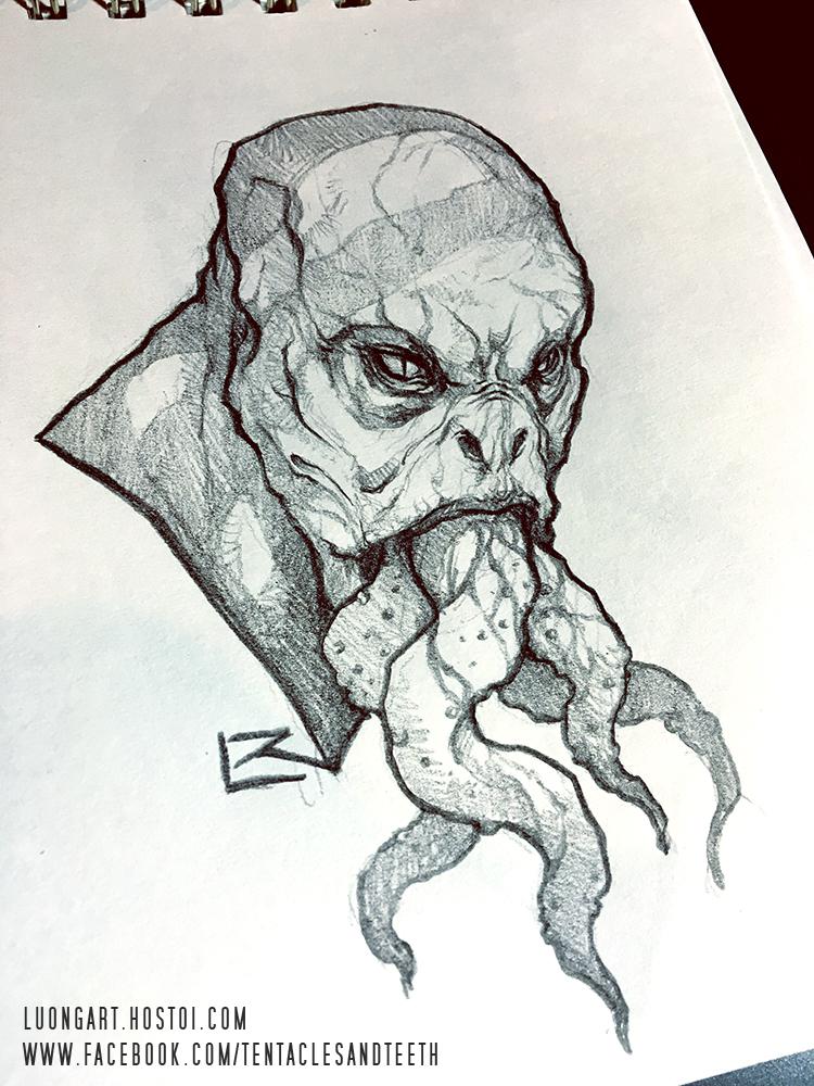 Monster Sketch by TentaclesandTeeth on DeviantArt