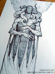 King In Yellow Sketch by TentaclesandTeeth