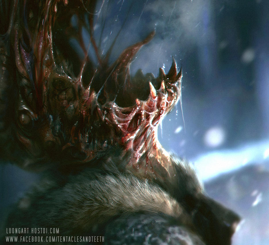The Thing by TentaclesandTeeth