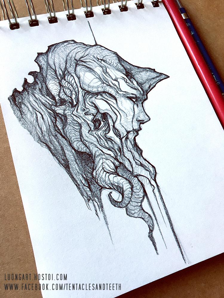 Morning Sketch by TentaclesandTeeth