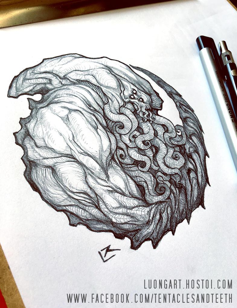 Cthulhu Circle by TentaclesandTeeth