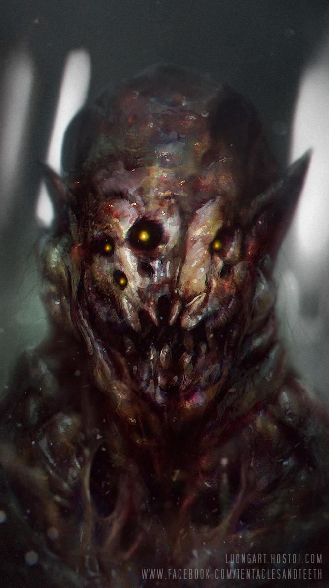 Monster Design by TentaclesandTeeth