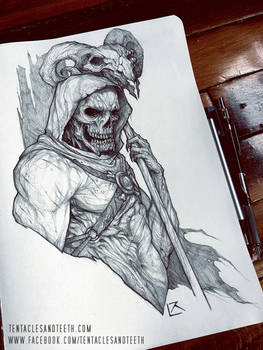 Skeletor Drawing
