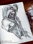 Skeletor Drawing