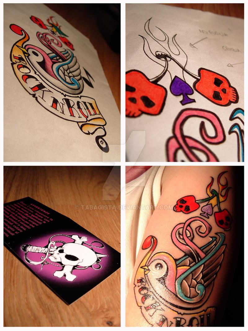 My New Rockabilly Tattoo by tabagista on DeviantArt