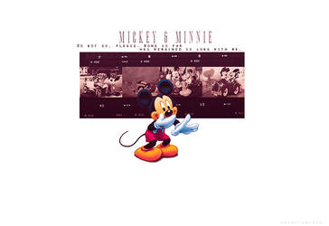 Mickey and Minnie Mouse - Regular by DAMIANsoul