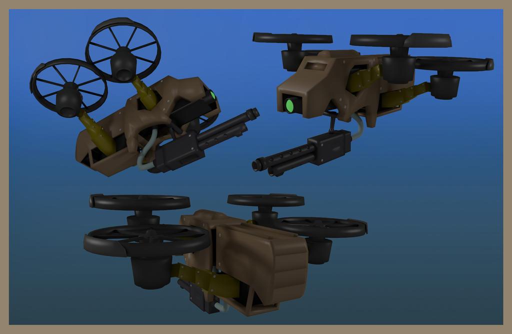 Quadrotor Drones