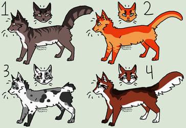 CLOSED OTA Kitty Adopts by BlueWolfPrincess